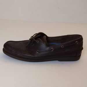 Bass Leather Boat Shoes 12M